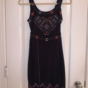 XS Free People Bodycon Cutout Dress